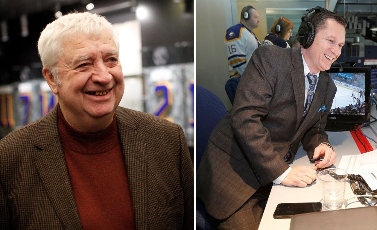 Rick Jeanneret, left, and Dan Dunleavy, right, are looking likely to return to the broadcast booth next season. (News file photos)