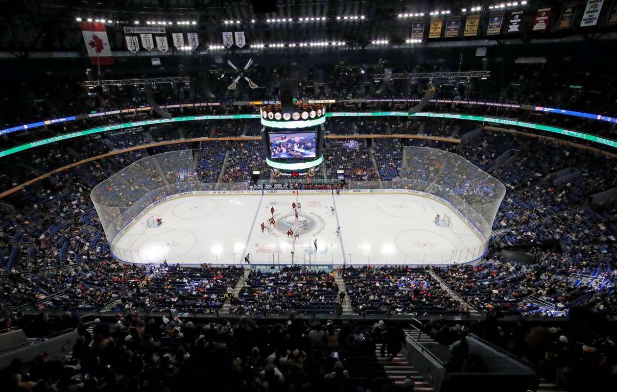 KeyBank Center. (Harry Scull Jr./News file photo)