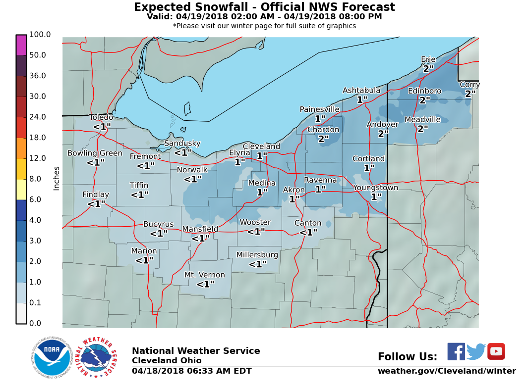 Erie Pa Is An Inch Away From Breaking Buffalo S Snowfall Record