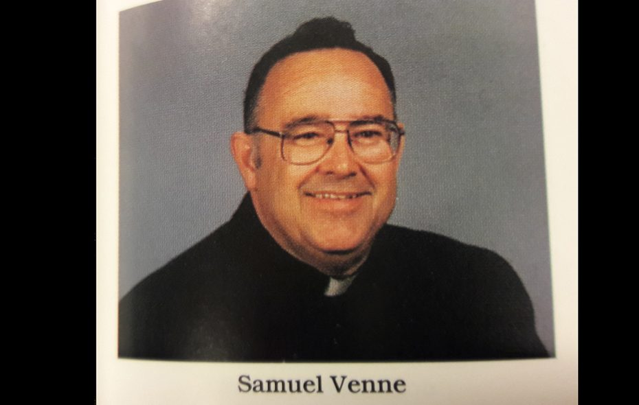 Rev. Samuel Venne of St. Stephen Roman Catholic Church on Grand Island. (Diocese of Buffalo's 1995 Priests' Pictorial Directory)