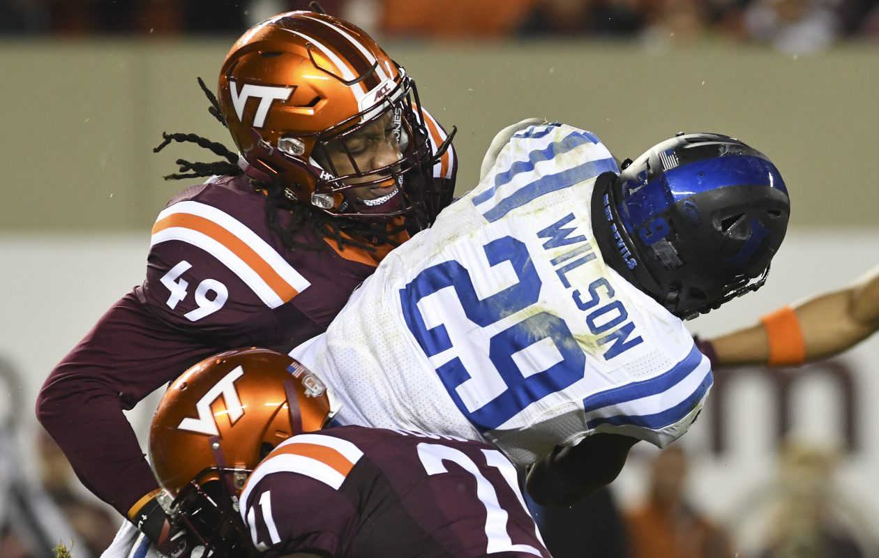 Virginia Tech linebacker Tremaine Edmunds is the newest member of the Buffalo Bills. (Getty Images)