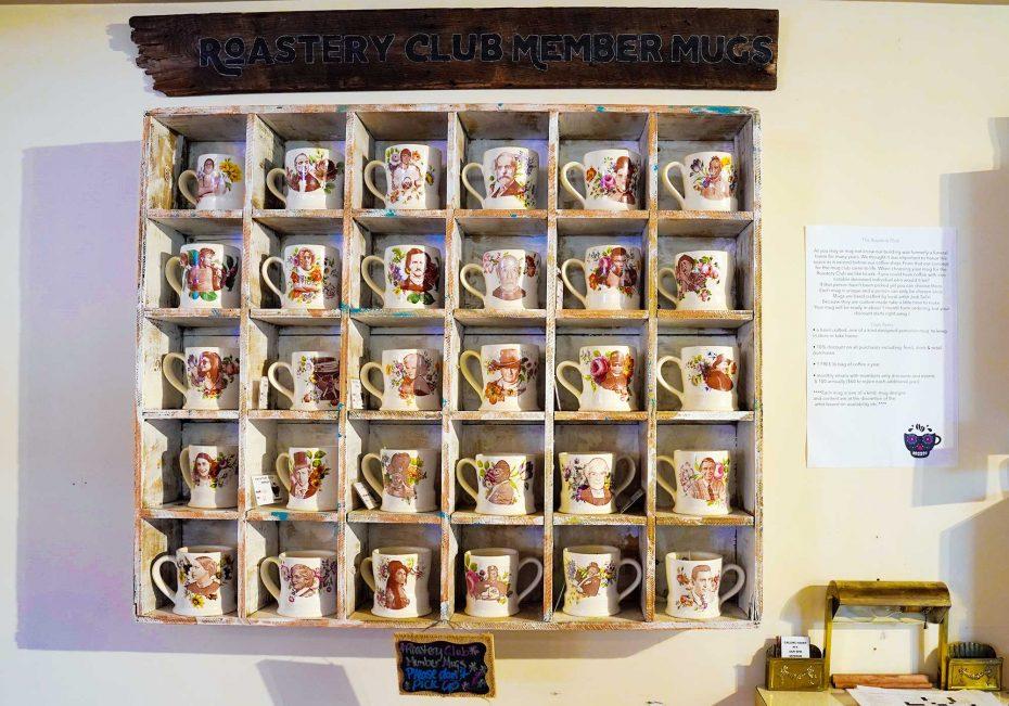 Undergrounds Coffee House mugs | The new buzz on Buffalo's coffee scene | Buffalo Magazine