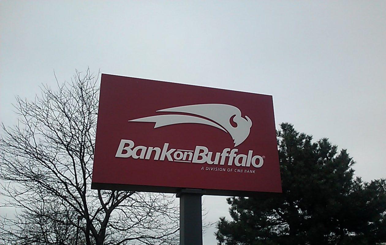 Bank on Buffalo's parent reported a 9.2 percent increase in profits. (Matt Glynn/Buffalo News)