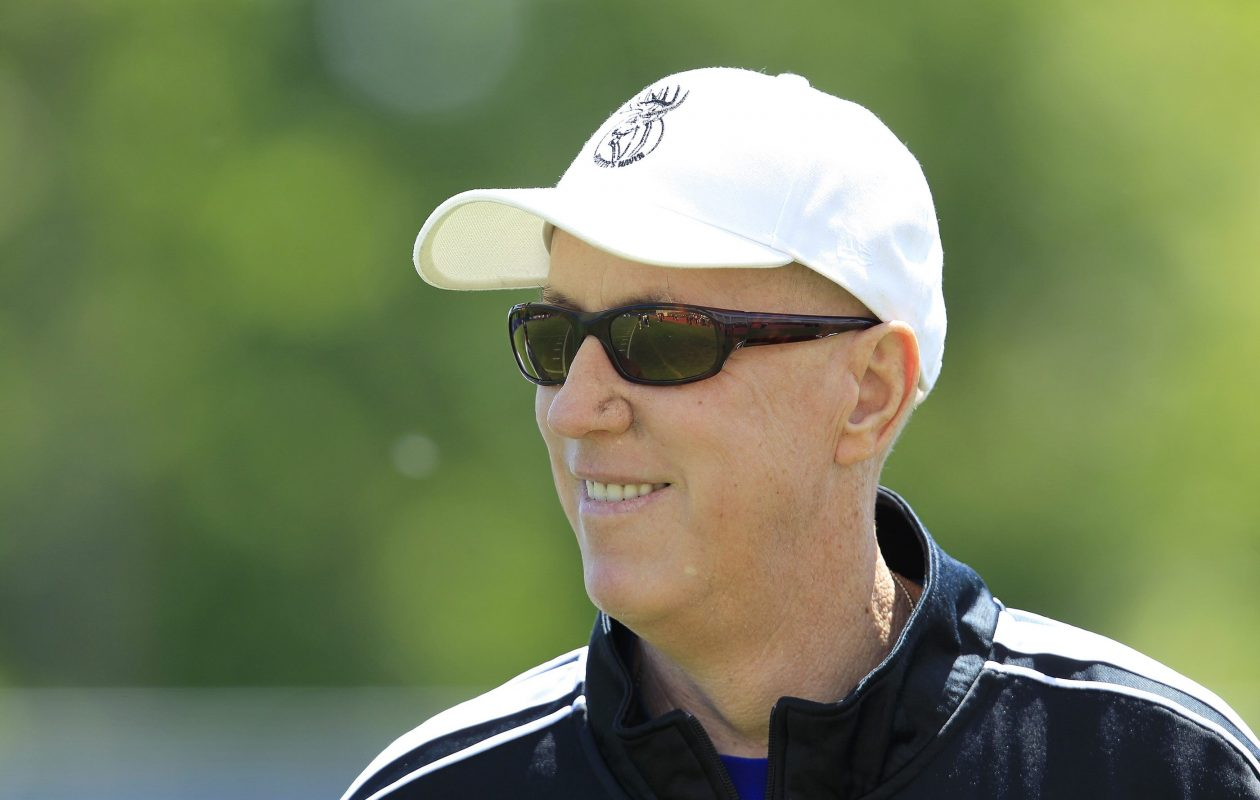 Buffalo Bills Hall of Fame quarterback Jim Kelly. (Harry Scull Jr. /Buffalo News)