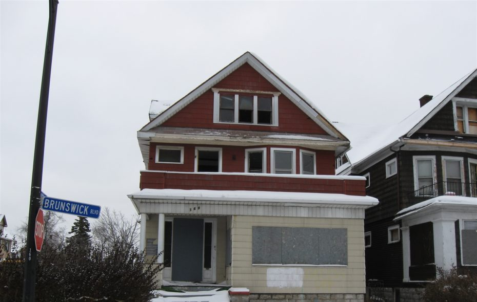 160 Brunswick Blvd.: fixed up for $560,000, sold for $115,000