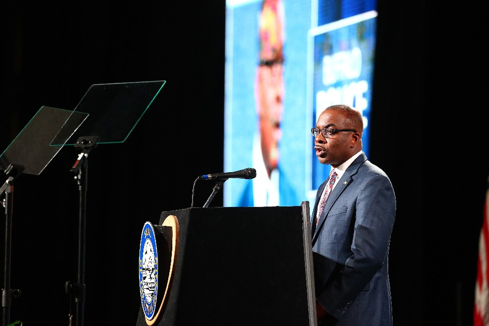 "After holding down taxes and fees during his tenure, Mayor Byron W. Brown says he is ready to ""realign revenues"" to balance Buffalo's budget. (John Hickey/News file photo)"