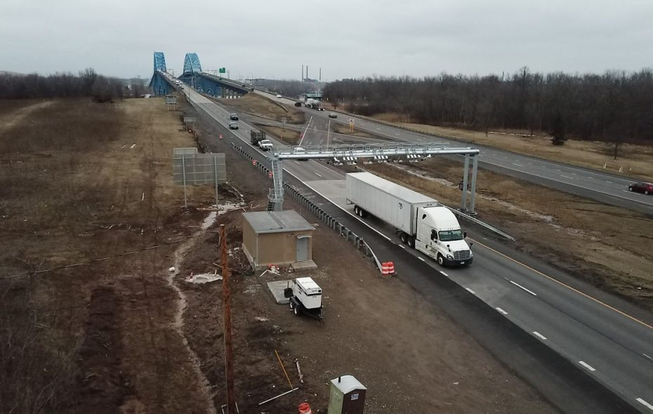 Cashless tolling over Grand Island went live in March 2018. (John Hickey/News file photo)