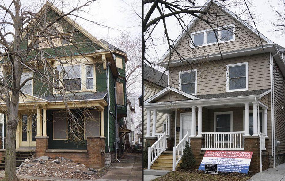Buffalo spent $523,600 rehabbing house