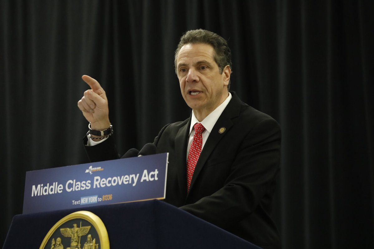 Gov. Andrew Cuomo convened a panel to draft a bill to legalize marijuana. (Derek Gee/News file photo)