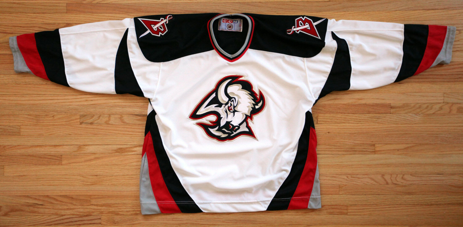 Who knew  Sabres   goat head  jersey had hidden buffalo head – The ... 0e4a08bf3