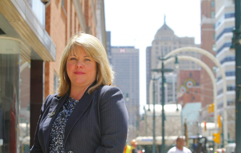 Buffalo Niagara Partnership CEO Dottie Gallagher-Cohen  is concerned about the impact of pay-equity audits on businesses. (John Hickey/Buffalo News)