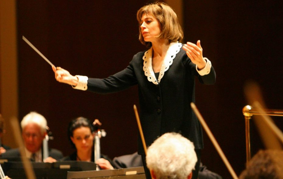 JoAnn Falletta leads the Buffalo Philharmonic Orchestra at Kleinhans Music Hall. (News file photo)
