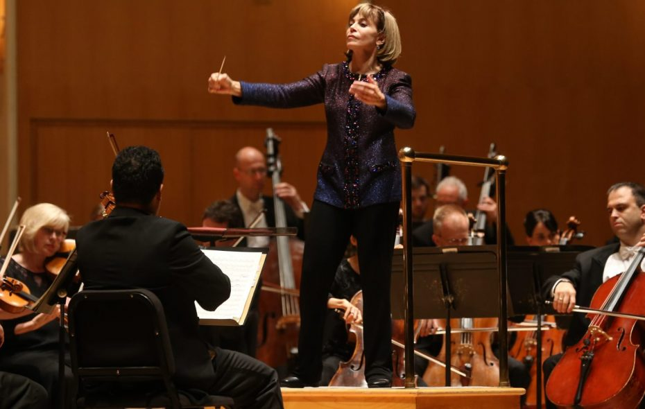 Buffalo Philharmonic Orchestra Music Director JoAnn Falletta is working with doctor musicians this week. (Sharon Cantillon/News file photo)
