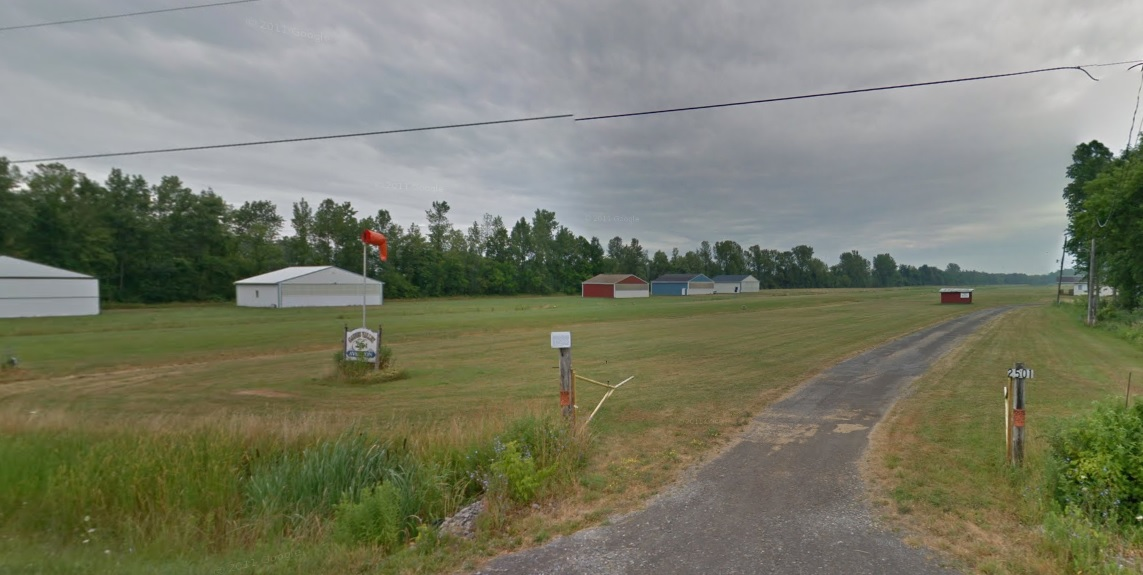 Gaines Valley Airport. (Google Streetview)