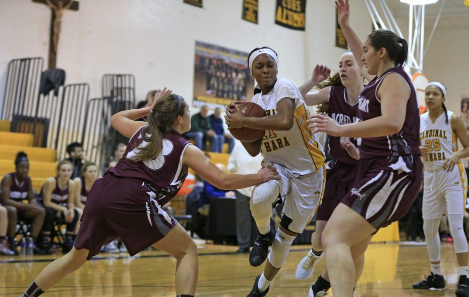 Cardinal O'Hara's Anndea Zeigler was the first player to be named the Sister Maria Pares Buffalo News Player of the Year. (Harry Scull Jr./Buffalo News file photo)