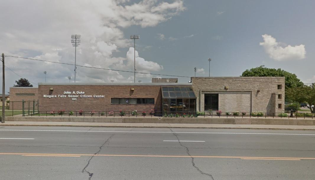 The John Duke Senior Center on Hyde Park Boulevard in Niagara Falls. (Google Streetview)