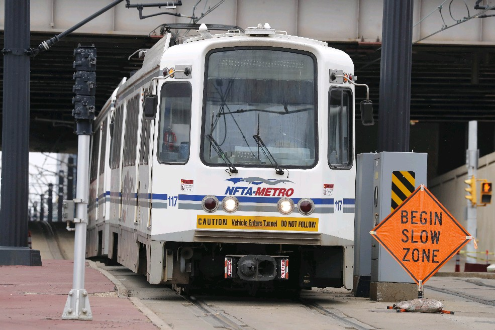 The proposal to extend Metro Rail from Buffalo into Amherst has the backing of several key constituencies, but Rep. Brian Higgins – who represents both communities -- is not on board. (Mark Mulville/Buffalo News)