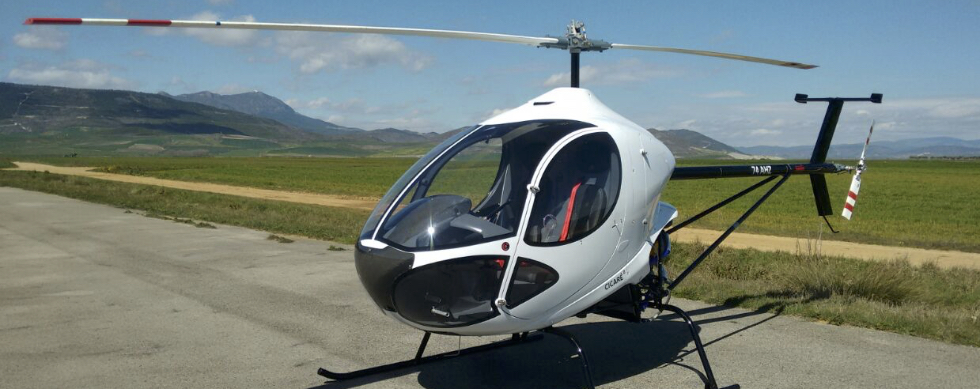 Pilot of ultralight helicopter in guarded condition after