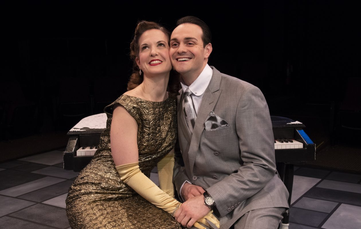 Diane Curley and Adriano Gatto are featured in the Irish Classical Theatre Company's production of 'The Awful Truth.'