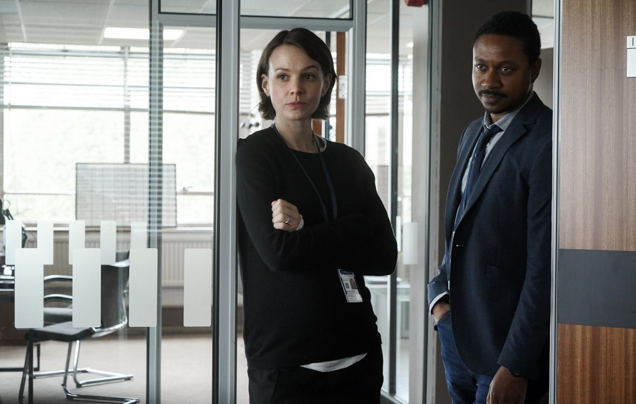 "Carey Mulligan and Nathaniel Martello-White star in the limited-run series ""Collateral"" on Netflix. (Liam Daniel/Netflix)"