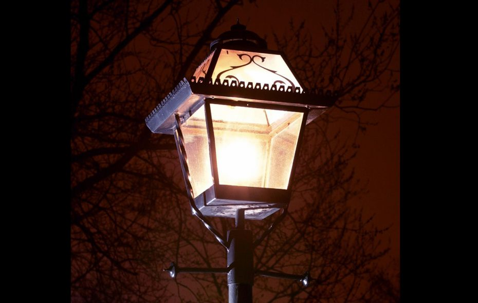 A street light in the Town of Tonawanda, which is spending $10.3 million to buy its inventory of lights from National Grid and to convert them to cost-saving LED technology. (News file photo)