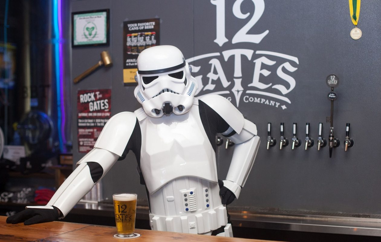 East Amherst brewery 12 Gates will release the area's first Wookiee-themed beer. (via 12 Gates)