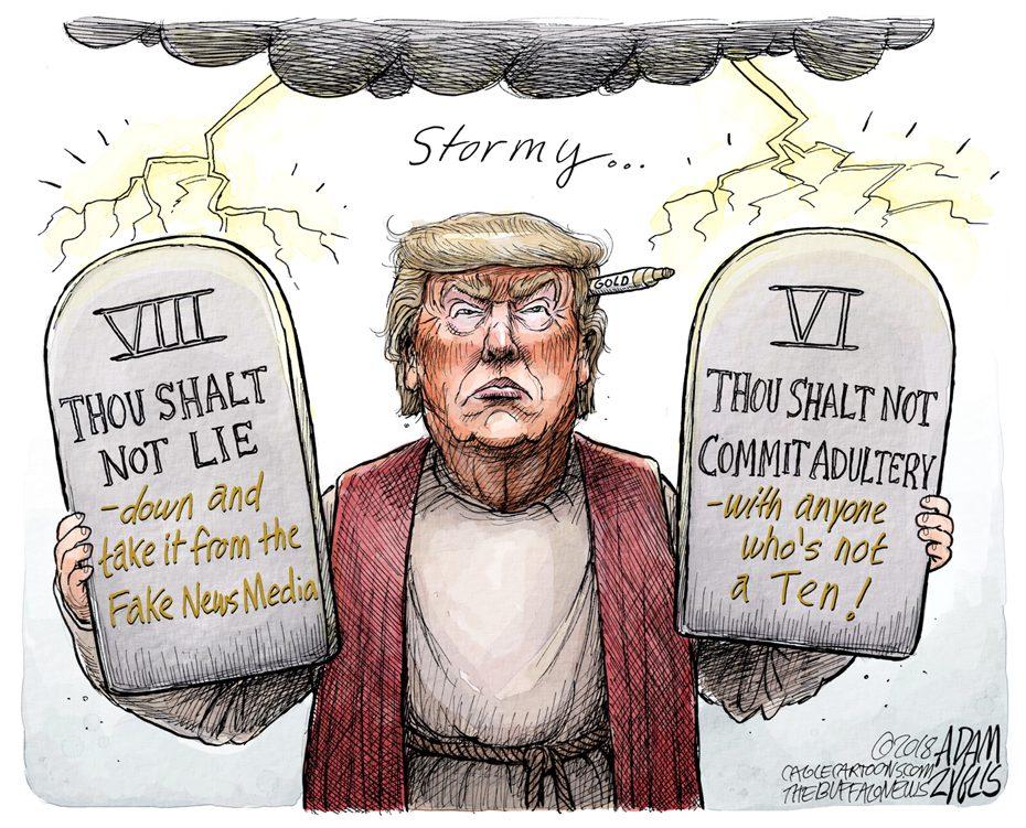 Stormy Daniels: May 4, 2018