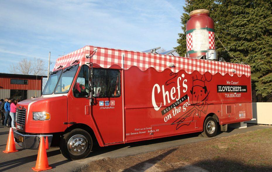 Chef's on the Go food truck. (Sharon Cantillon/Buffalo News)