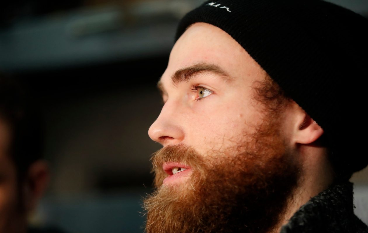 Ryan O'Reilly says the pieces are in place for the Sabres, who need better leadership. (Harry Scull Jr./News file photo)