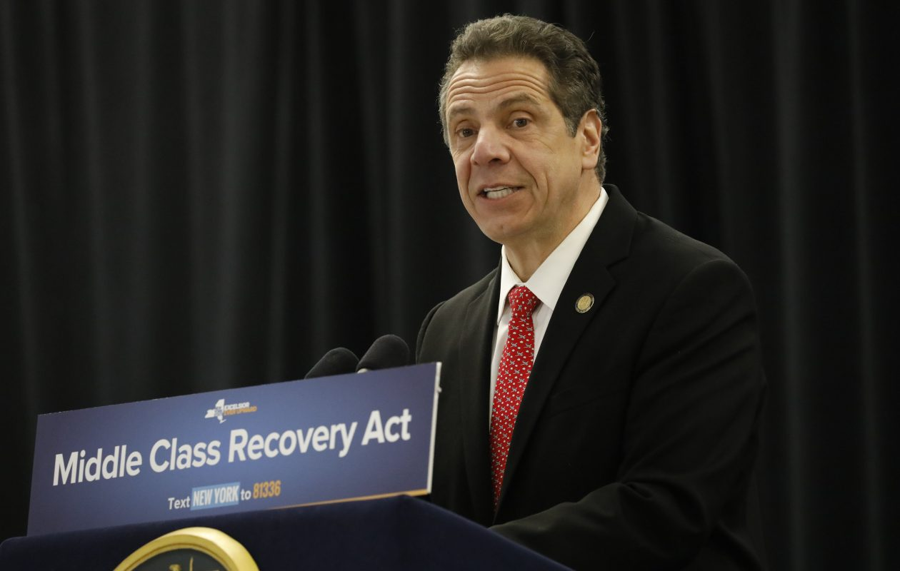 Gov. Andrew Cuomo will stop in Buffalo on Monday for a get-out-the-vote rally. (Derek Gee/News file photo)