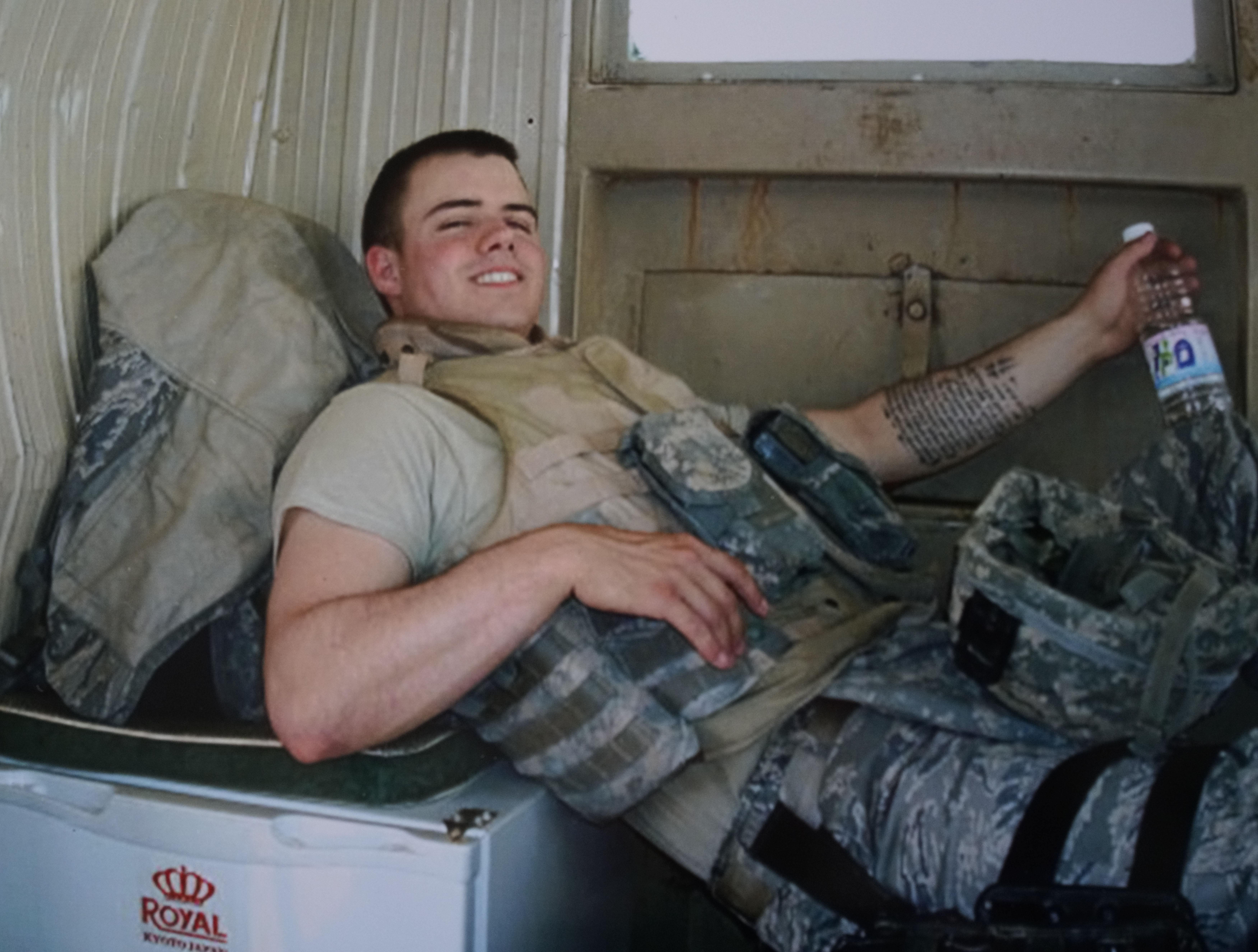 Iraq War vet served in 'Mortar-Rita-Ville,' guarded