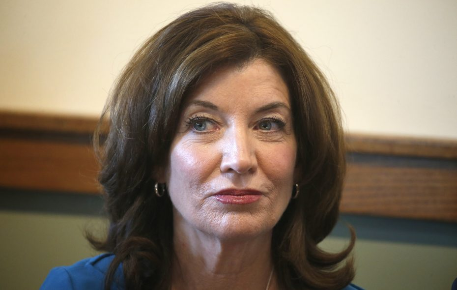 Kathy Hochul took the unusual step of raising money for her own lieutenant governor campaign. (Robert Kirkham/Buffalo News)