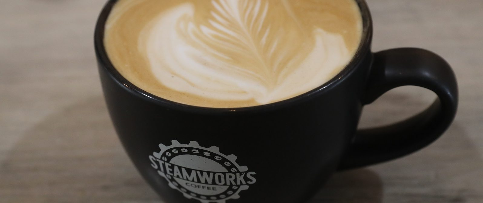 A latte from Steamworks Coffee is available as a sweeter option. (John Hickey/Buffalo News file photo)