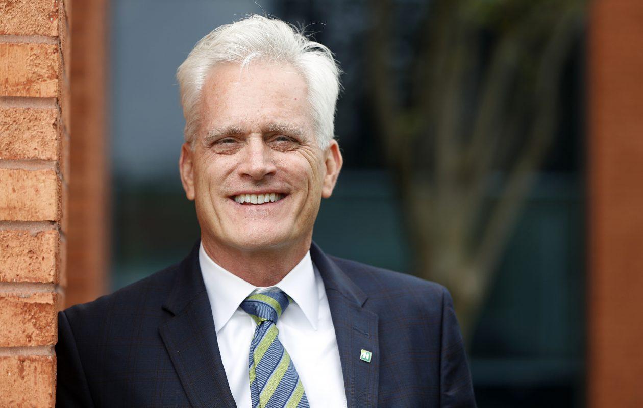 Rick Hamister sees his new post as New York region president of Northwest Bank as 'entrepreneurial'   (Mark Mulville/Buffalo News)