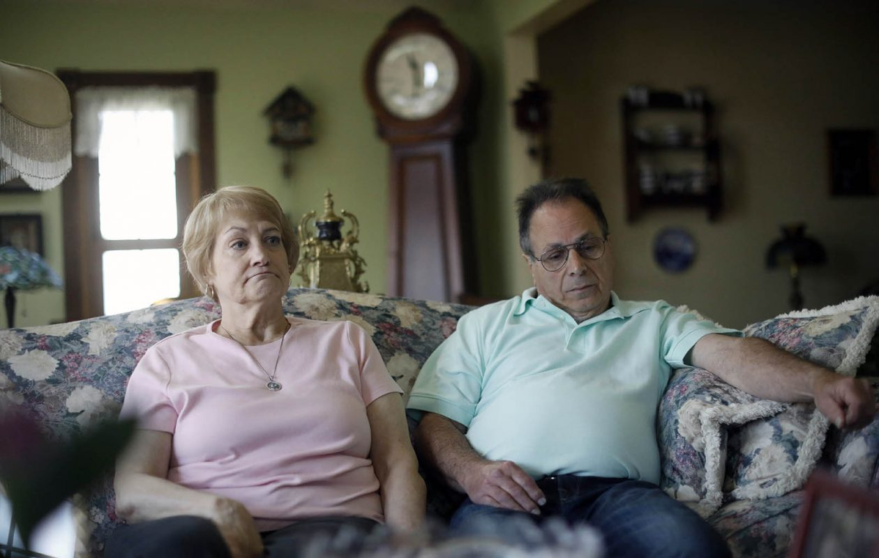 Connie and Tony Paoletti of Cheektowaga are concerned about their 45-year-old son Stephen, who went missing last May in Florida, where he was living and working as a private investigator. (Derek Gee/Buffalo News)