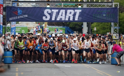 The 2018 Buffalo Marathon