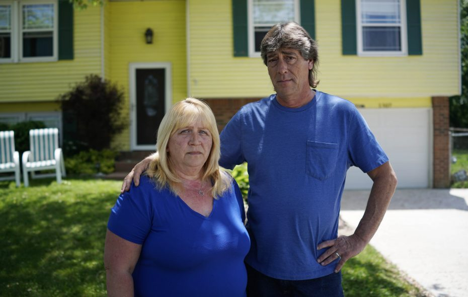Lori and Dwayne Bell have been fighting a foreclosure on their home in Derby since 2012. (Derek Gee/Buffalo News)