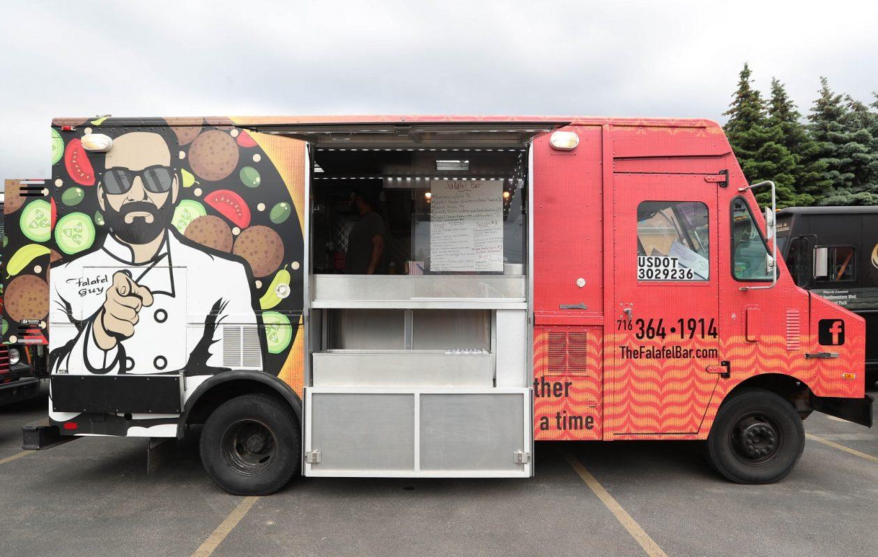 food truck guide falafel bar the buffalo news. Black Bedroom Furniture Sets. Home Design Ideas
