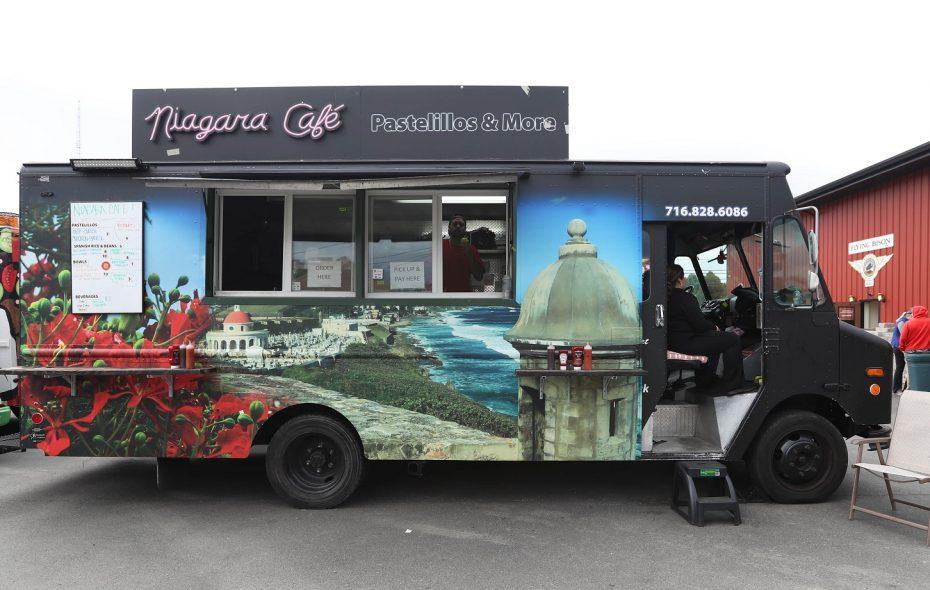 Niagara Cafe Pastelillos and More food truck. (Sharon Cantillon/Buffalo News)