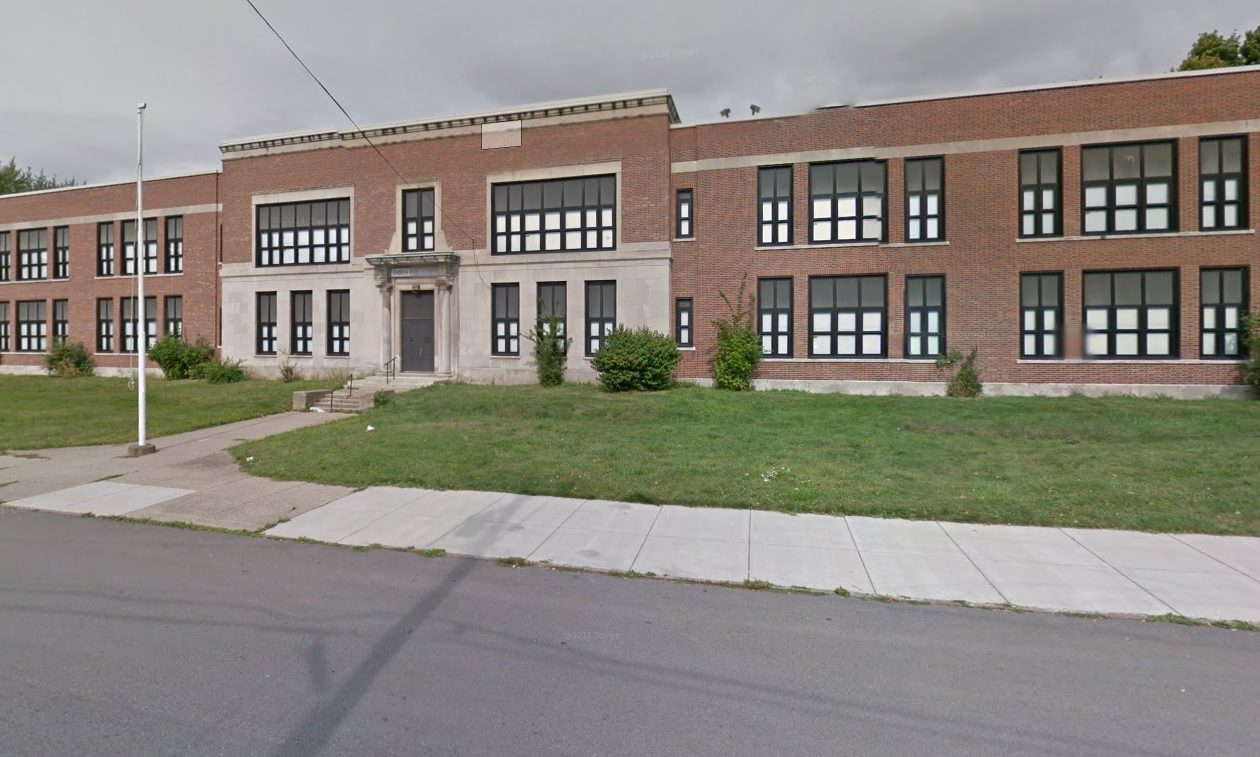 Western New York Maritime Charter School is planning an expansion to this former school on Buffum Street in South Buffalo, to consolidate its high school and middle school together.