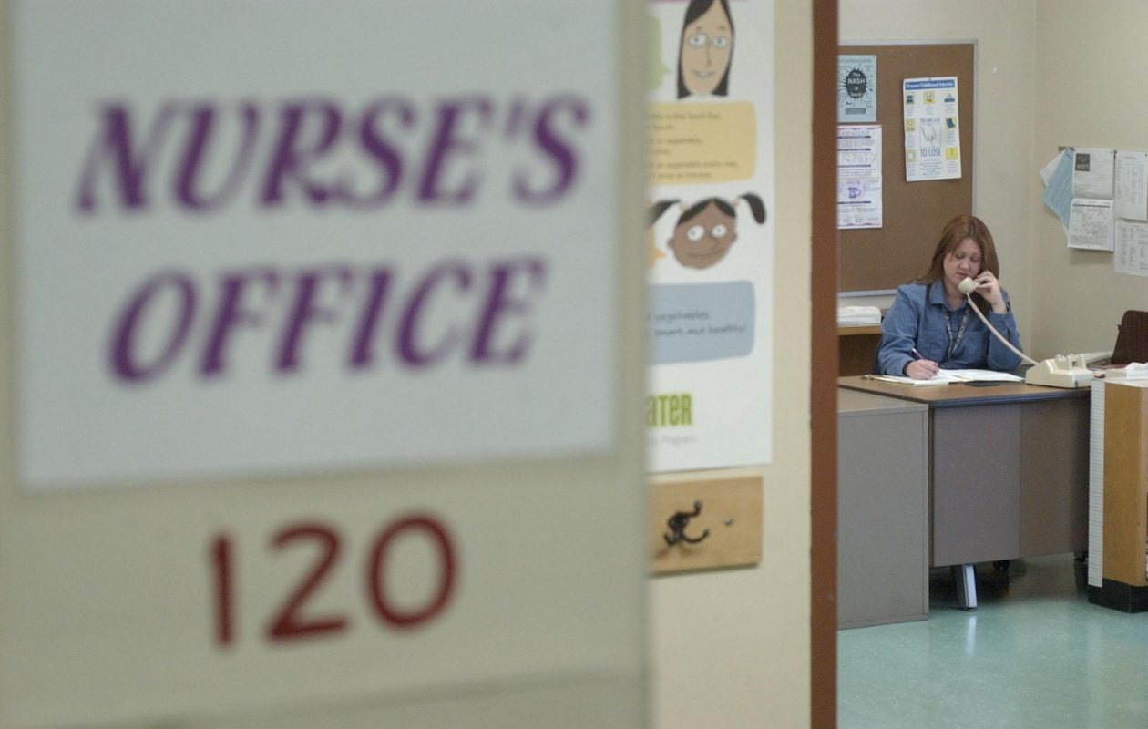 Because of archaic rules in Buffalo Schools and an error by Kaleida Health, the school district is planning to find a new supplier of nurses for its schools. (Sharon Cantillon/Buffalo News file photo)