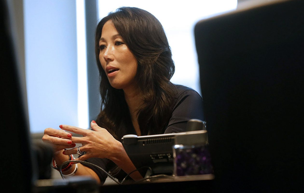 'It wasn't a big hardship for me to jump from owner,' Kim Pegula told The News of her new role with the Bills and the Sabres. (Robert Kirkham/News file photo)