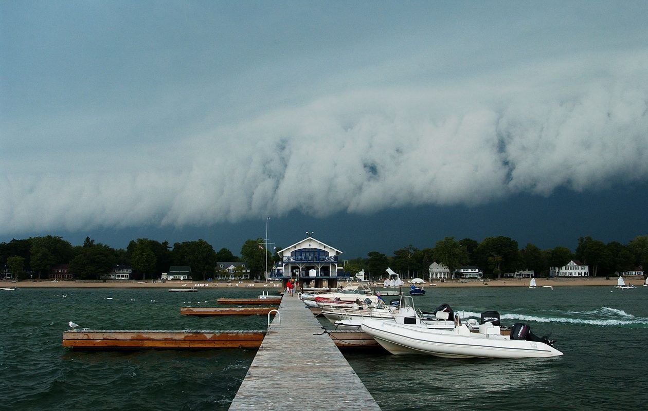 Thunderstorm and rain over Crystal Beach, Ont. (News file photo)
