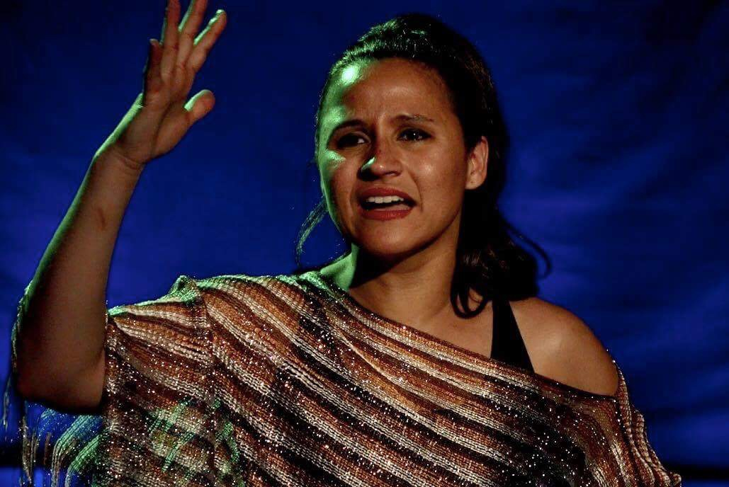 "Melinda Capeles stars in Raíces Theatre's production of ""La Lupe"" in the Manny Fried Playhouse. (Provided photo)"