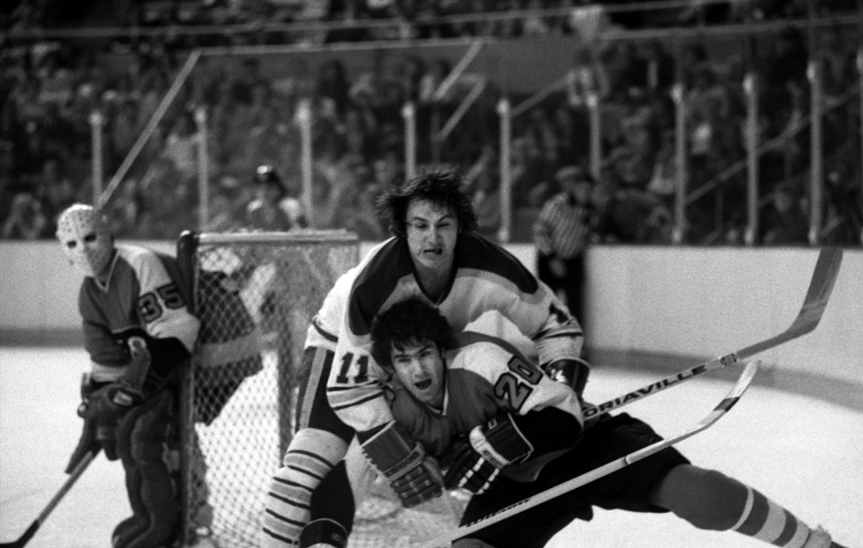 Though Gilbert Perreault is fittingly called the Original Sabre, he was technically the 29th player to join the organization. (Photo courtesy of the Buffalo Sabres)