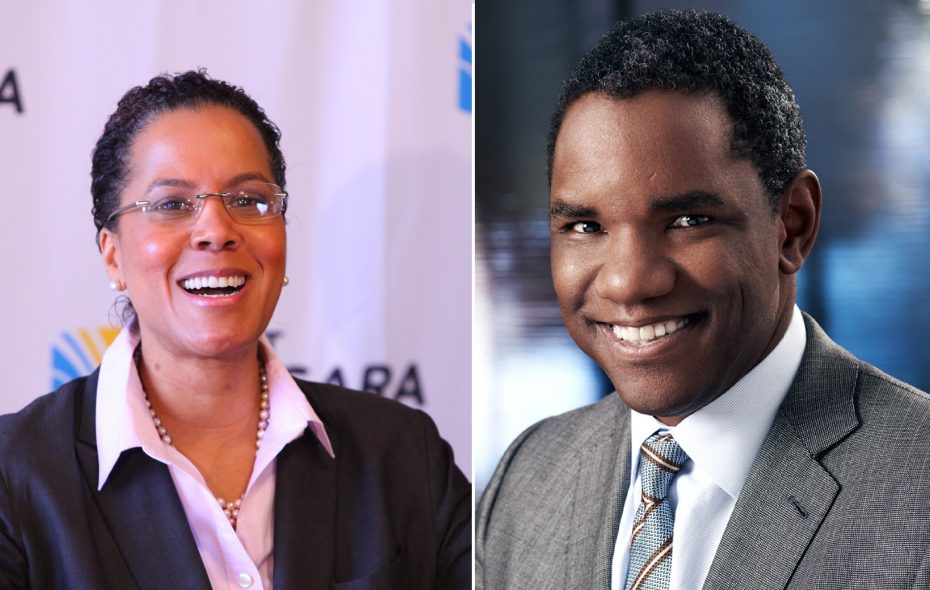 Leecia Eve, left, and Keith Wofford. (News file photo and provided photo)