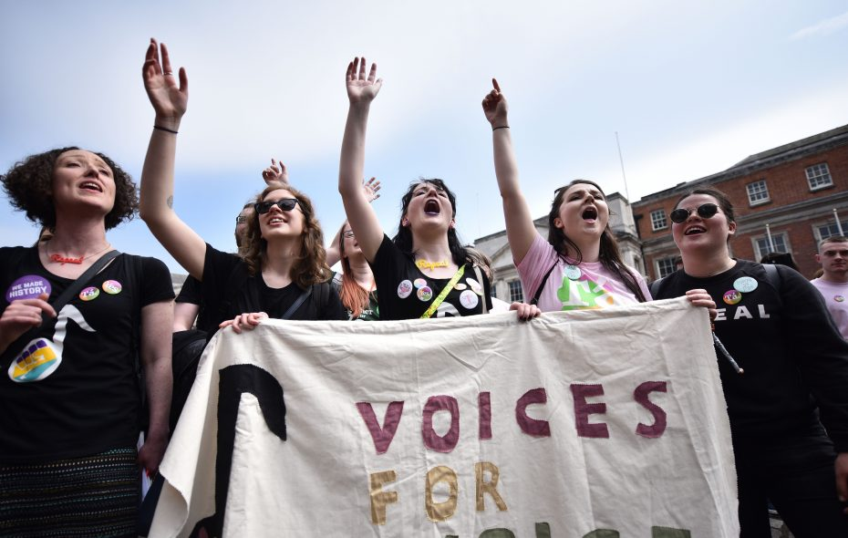 Ireland votes to legalize abortion in blow to Catholic