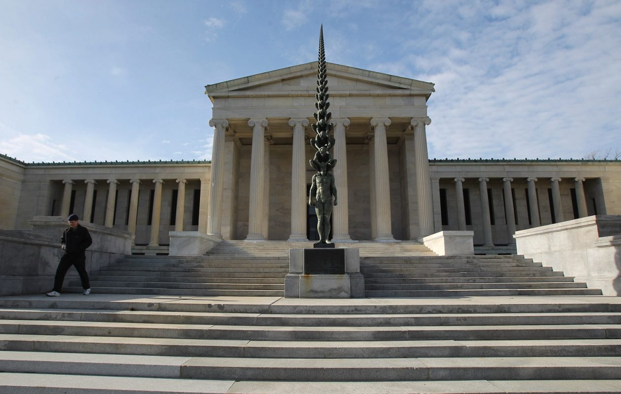 Sunday Funday can involve art, too. A visit to the Albright-Knox Art Gallery is only $5 for the family on May 13. (Sharon Cantillon/News file photo)