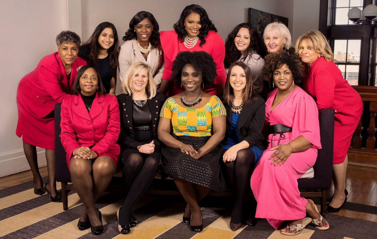 12 of this year's Athena Award Leadership Finalists.