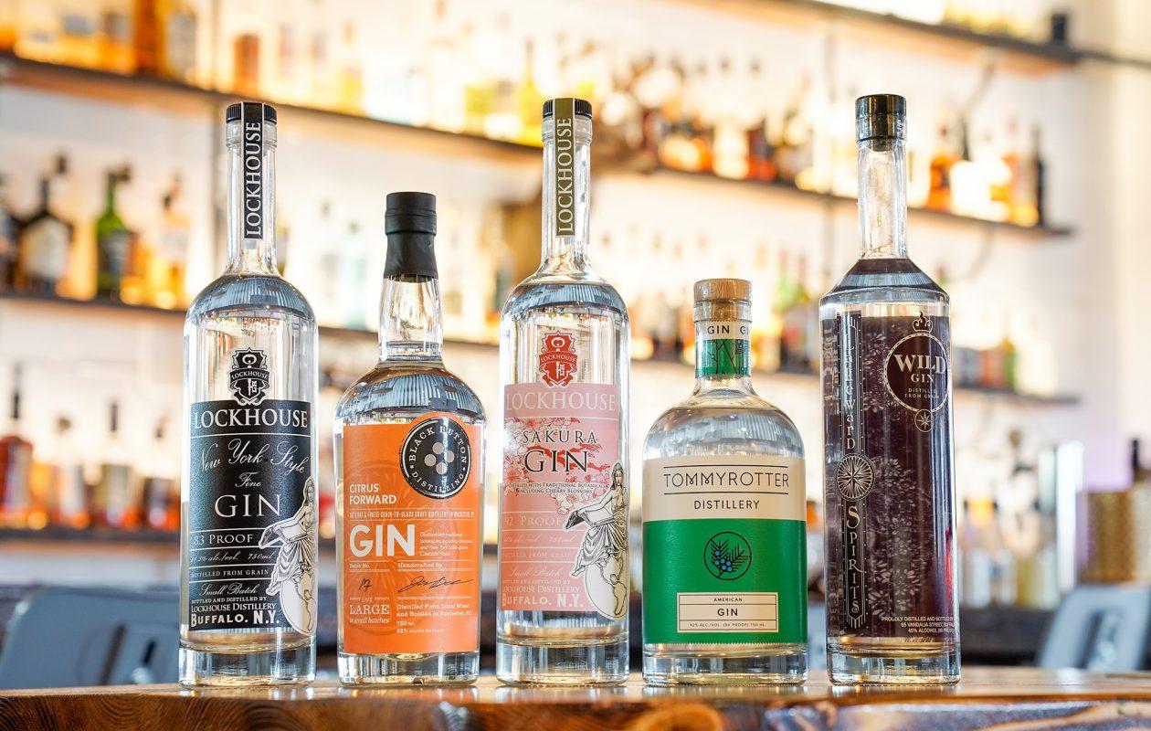Local gin mixes up a classic cocktail. (Dave Jarosz)